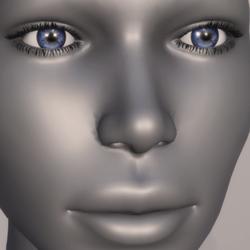 Women Eyes - Blue