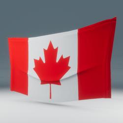 Canada Flag Wall Display