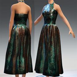 Ancient Bronz Statue Dress V1
