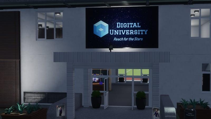 Digital University: Main Entrance