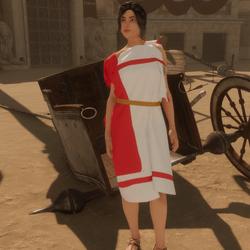 Peplo - Roman historical costume