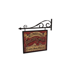 Victorian Wall Sign