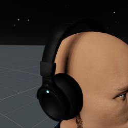 Headphones Black M