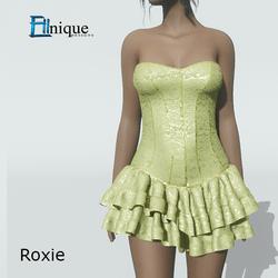 Lemon Lace Corset Dress