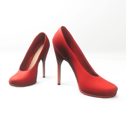 "High heel pumps for ""Alina Daisy highheels"" and ""Nicci"" avatar - red"