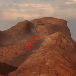 landscape desert V1