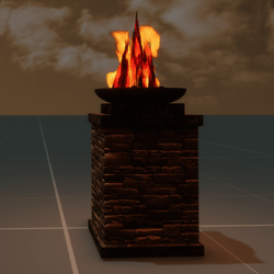 Scripted Fire Bowl