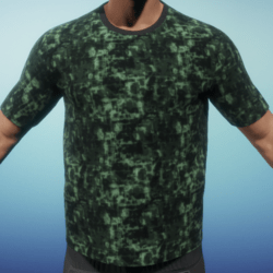 [BC] digital camo green T shirt
