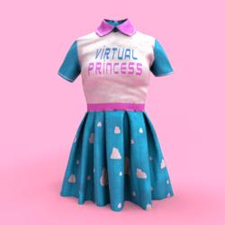 VirtualPrincess Dress