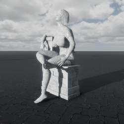 SITTING STATUES