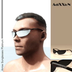 Arrow Sunglasses Platinum