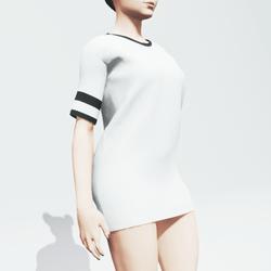 White Baggy Shirt