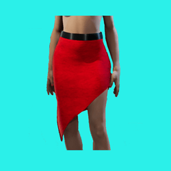 Gia Skirt Red
