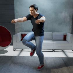 Running Man Dance (Male)