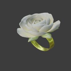 jewelry _ring_flower_cream_001