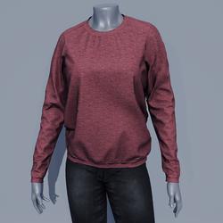 Women Sweater - Rose Brown