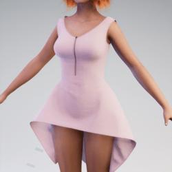 Toulouse Pink Dress Av 2.0