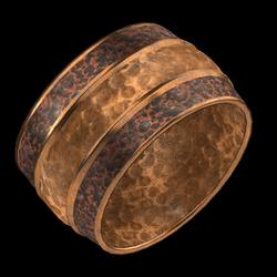 Hammered Cuff Copper