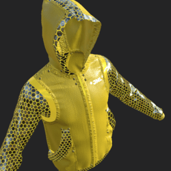 BOS JACKET EMISSIVE YELLOW