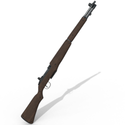 M1 Garand (Neck) [Female]