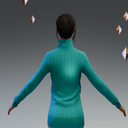 Turtle Neck Sweater#4