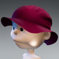 Minis Bucket Sun Hat - Pink