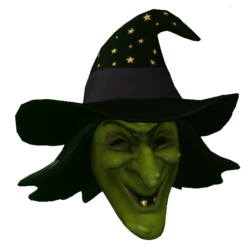 Evil Witch Mask (Male)
