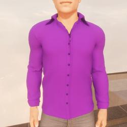 TKA - purple shirt man