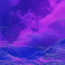 Purple Magic Clouds