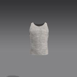 Male Tank Top - White (MsAquaria)