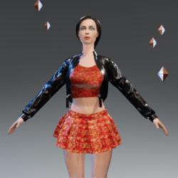 Dress, skirt, jacke