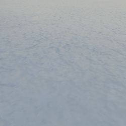 Flat Snow Ground