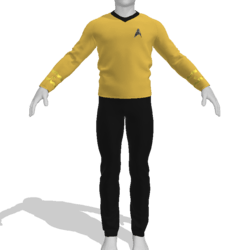 AV2 - Vintage Star Trek Suit Gold