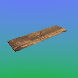 Wood Plank 1X4