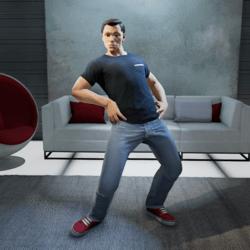 Hip Thrusts Gesture (Male)