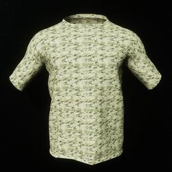 Light Green  Camo Male T-Shirt