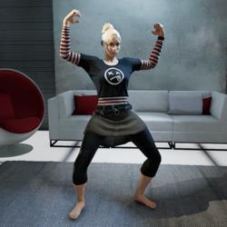 Flex Muscles Gesture (Female)