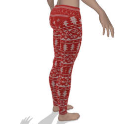Christmas yoga pants