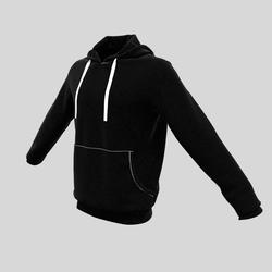 hoody male black