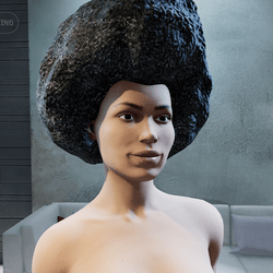 Afro Hair (Female) 70's Groove