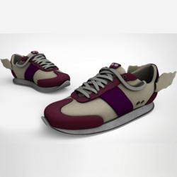 Messenger Sneakers Purp