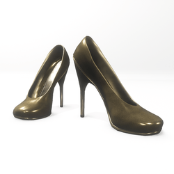 "High heel pumps for ""Alina Daisy highheels"" and ""Nicci"" avatar -  dark gold"