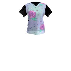 Ladies  'Fairy Rose Art' T-shirt