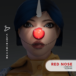 Red Nose (Animated) for Female