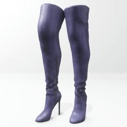 """""""Alina - Daisy"""" and Nicci avatar boots - blue"""
