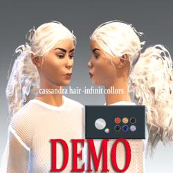 cassandra hair -collor picker demo