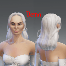 tracy tail less -base white-infinity colors-demo