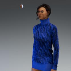 Turtle Neck Sweater#2