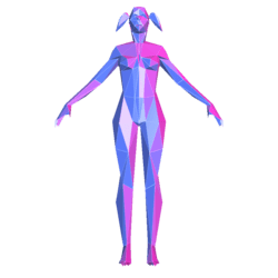 Synth Woman