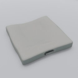 Floor Cushion With Handle White